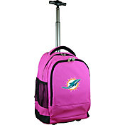 Mojo Miami Dolphins Wheeled Premium Pink Backpack
