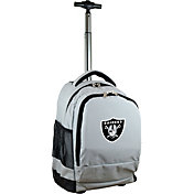 Mojo Las Vegas Raiders Wheeled Premium Grey Backpack