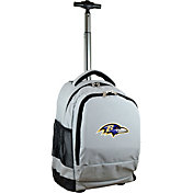 Mojo Baltimore Ravens Wheeled Premium Grey Backpack