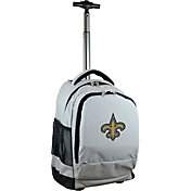Mojo New Orleans Saints Wheeled Premium Grey Backpack