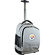 Mojo Pittsburgh Steelers Wheeled Premium Grey Backpack