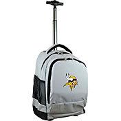 Mojo Minnesota Vikings Wheeled Premium Grey Backpack