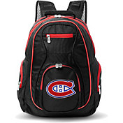Mojo Montreal Canadiens Colored Trim Laptop Backpack