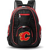 Mojo Calgary Flames Colored Trim Laptop Backpack