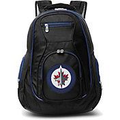 Mojo Winnipeg Jets Colored Trim Laptop Backpack
