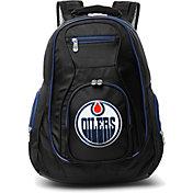 Mojo Edmonton Oilers Colored Trim Laptop Backpack