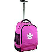 Mojo Toronto Maple Leafs Wheeled Premium Pink Backpack
