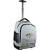 Mojo Nashville Predators Wheeled Premium Grey Backpack