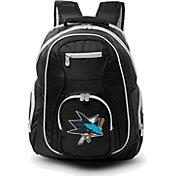 Mojo San Jose Sharks Colored Trim Laptop Backpack