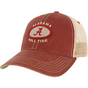 League-Legacy Men's Alabama Crimson Tide Crimson Old Favorite Adjustable Trucker Hat