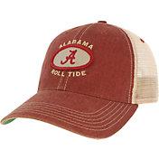 League-Legacy Men's Alabama Crimson Tide Crimson Old Favorite Adjustable Trucker Hat