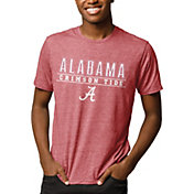 League-Legacy Men's Alabama Crimson Tide Crimson Reclaim Tri-Blend T-Shirt