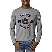 League-Legacy Men's Auburn Tigers Grey Reclaim Tri-Blend Long Sleeve T-Shirt