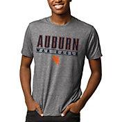 League-Legacy Men's Auburn Tigers Grey Reclaim Tri-Blend T-Shirt