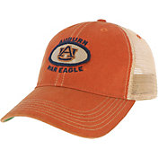 League-Legacy Men's Auburn Tigers Orange Old Favorite Adjustable Trucker Hat