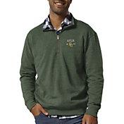 League-Legacy Men's Baylor Bears Green Heritage Quarter-Zip Shirt