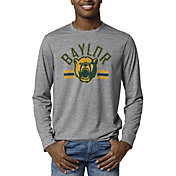 League-Legacy Men's Baylor Bears Grey Reclaim Tri-Blend Long Sleeve T-Shirt