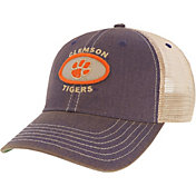 League-Legacy Men's Clemson Tigers Regalia Old Favorite Adjustable Trucker Hat