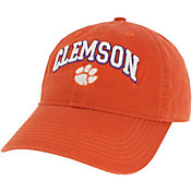 League-Legacy Men's Clemson Tigers Orange Relaxed Twill Adjustable Hat
