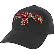 League-Legacy Men's Florida State Seminoles Relaxed Twill Adjustable Black Hat