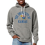 League-Legacy Men's Kansas Jayhawks Grey Stadium Hoodie