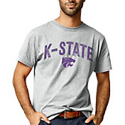 League-Legacy Men's Kansas State Wildcats Grey All American T-Shirt