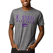 League-Legacy Men's Kansas State Wildcats Grey Reclaim Tri-Blend T-Shirt