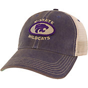League-Legacy Men's Kansas State Wildcats Purple Old Favorite Adjustable Trucker Hat