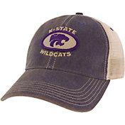 League-Legacy Men's Kansas State Wildcats Purple Old Favorite Adjustable Trucker Hat