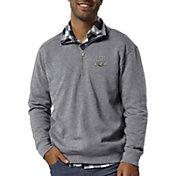 League-Legacy Men's LSU Tigers Grey Heritage Quarter-Zip Shirt