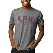 League-Legacy Men's LSU Tigers Grey Reclaim Tri-Blend T-Shirt