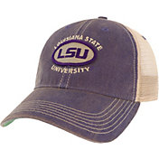 League-Legacy Men's LSU Tigers Purple Old Favorite Adjustable Trucker Hat