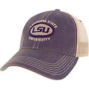 League-Legacy Men's LSU Tigers Purple Old Favorite Adjustable Trucker Hat