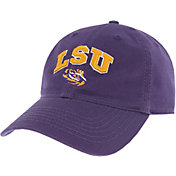 League-Legacy Men's LSU Tigers Purple Relaxed Twill Adjustable Hat
