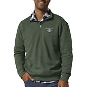 League-Legacy Men's Michigan State Spartans Green Heritage Quarter-Zip Shirt
