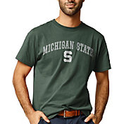 League-Legacy Men's Michigan State Spartans Green All American T-Shirt