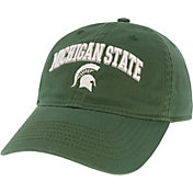 League-Legacy Men's Michigan State Spartans Green Relaxed Twill Adjustable Hat