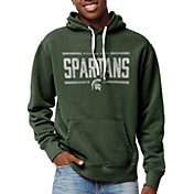 League-Legacy Men's Michigan State Spartans Green Stadium Hoodie