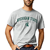 League-Legacy Men's Michigan State Spartans Grey All American T-Shirt