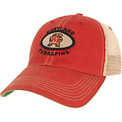 League-Legacy Men's Maryland Terrapins Red Old Favorite Adjustable Trucker Hat