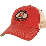 League-Legacy Men's Maryland Terrapins Red Old Favorite Adjustable Trucker Hat