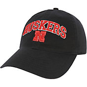 League-Legacy Men's Nebraska Cornhuskers Relaxed Twill Adjustable Black Hat