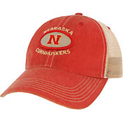League-Legacy Men's Nebraska Cornhuskers Scarlet Old Favorite Adjustable Trucker Hat