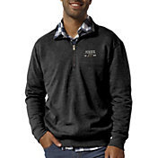 League-Legacy Men's Purdue Boilermakers Heritage Quarter-Zip Black Shirt