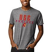 League-Legacy Men's USC Trojans Grey Reclaim Tri-Blend T-Shirt