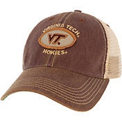 League-Legacy Men's Virginia Tech Hokies Maroon Old Favorite Adjustable Trucker Hat