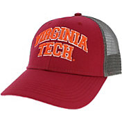 League-Legacy Men's Virginia Tech Hokies Maroon Lo-Pro Adjustable Trucker Hat