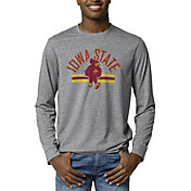 League-Legacy Men's Iowa State Cyclones Grey Reclaim Tri-Blend Long Sleeve T-Shirt