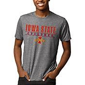 League-Legacy Men's Iowa State Cyclones Grey Reclaim Tri-Blend T-Shirt