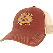 League-Legacy Men's Iowa State Cyclones Cardinal Old Favorite Adjustable Trucker Hat
